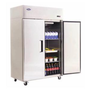 Armadio-refrigerato-TN-1400-Lt-doppia-porta-per-teglie-GN21
