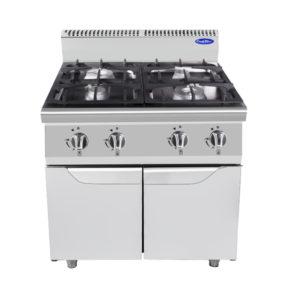 Cucina-4-fuochi-con-ante-Cook-Rite