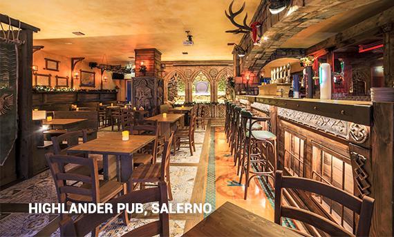 Highlander Pub Salerno