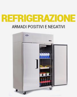 frigoriferi positivi e negativi per la ristorazione